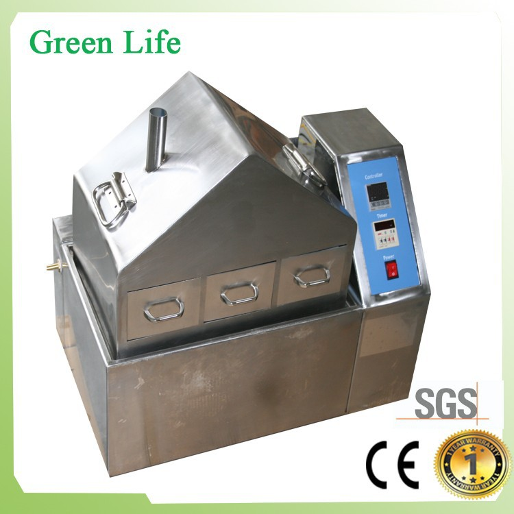 SUS#304 stainless steel high temperature cycling steam aging tester/chamber/machine with 3 test baskets