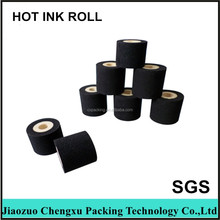 Black Hot Ink Roller Hot Ink Roller Hot Solid Ink Roll For Coding Date In Plastic Packing bags(0086 13569102757)