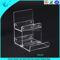 China Factory Flat Pack 3 tier Pop Counter Display Rack