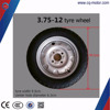 electric three wheeler tricycle rubber tyre 3.75*12 with tube wheel rim