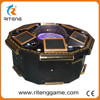 6 Player roulette game machine casino mini roulette machine