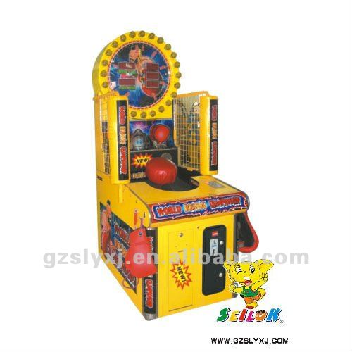 World boxing championship game machine