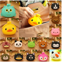 Silicone rubber ladies stylish bags/Hot sales silicone cosmetic bag/purse