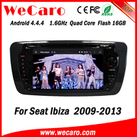 Wecaro WC-SI7004 android 4.4.4 car multimedia system for seat ibiza 2009 2010 2011 2012 2013 3G wifi playstore