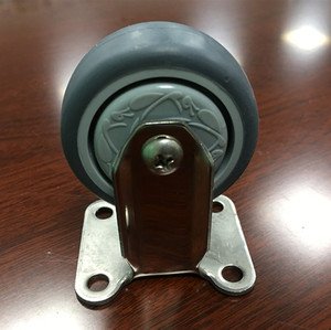 WBD 2 inch stainless steel caster light-duty industrial casters and wheels