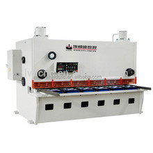 Alibaba China hydraulic automatic cut machine price,used steel sheet shearing machine for sale