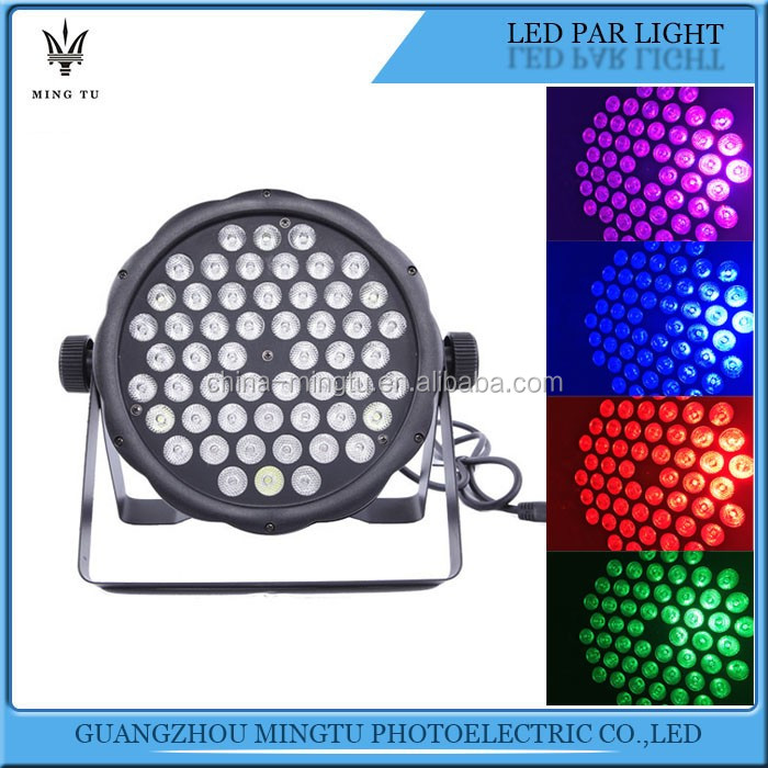 Guangzhou Supply 54*1w LED Par Star Light Effects
