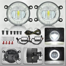 Hot Sell 120 different cars used Headlight halo ring LED DRL E4 Approved LED Fog Daytime Running Light