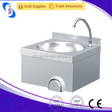 Knee Operated Commercial Stainless steel sink Hand Wash Sink