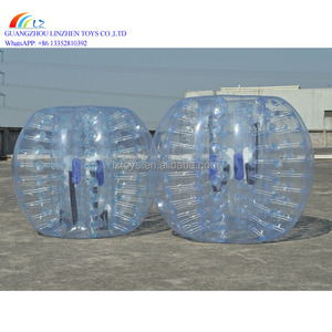 Good quality cheap inflatable belly bumper ball