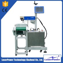 30W Flying CO2 Laser Marking Machine for Outer Package of Food, Pharmaceutical