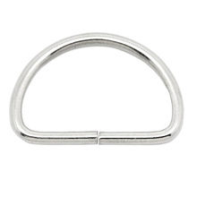 Stainless steel welded rigging hardware round ring / D ring for sale
