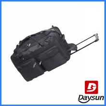 22 inch travel duffel bag with trolley