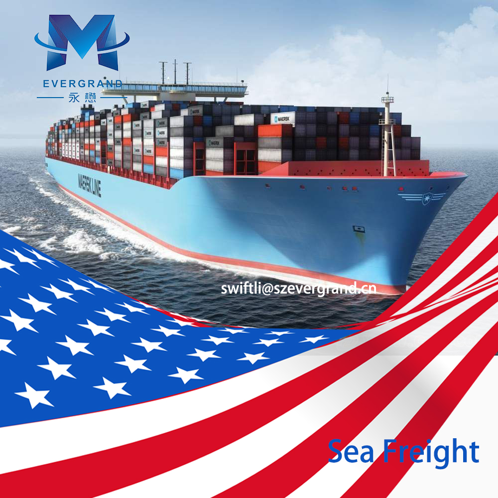Competitive Sea Freight Rate from Shanghai/Nanjing/Lianyungang to Oakland