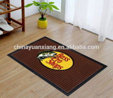 Embossed logo carpet mats, for sports team and brands