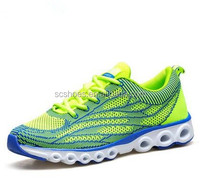 Breathable mesh fly line running shoes men's spring plane fly line woven men's sneakers shoes