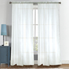 Popular best price white sheer curtain wedding drapery for decoration
