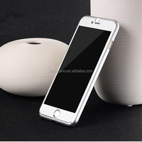 Luxury Neo Hybrid Hard PC 360 degrees Full Protect Case Cover For iPhone 6 silver color