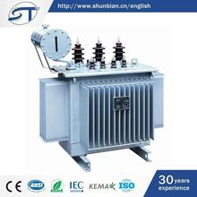 Electrical Equipment Three Phase 2015 Hot Sale Oil Immersed Type 63Kva Transformer