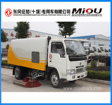 dongfeng 4x2 vacuum street sweepers road cleaner truck