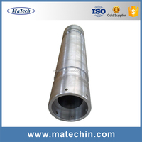 Customized Steel Casting Making Machine Cnc Connection Pipe