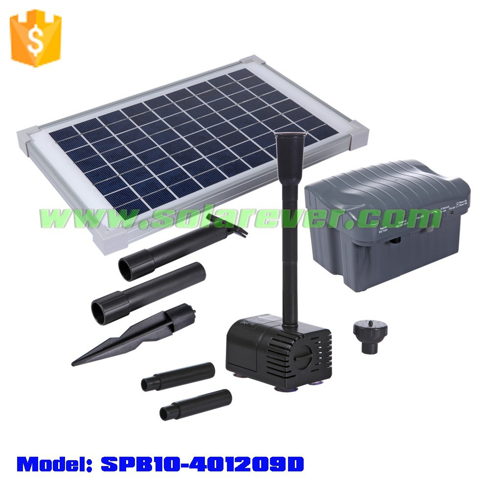 solar powered DC low voltage intrinsically safe fountain pump from gold supplier of Alibaba (SPB10-401209D)