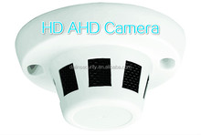 Mini Hidden camera 960P AHD Smoke detect case Camera