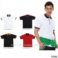 Collar T Shirt Customize High Quality Cotton