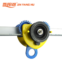 Construction Workshop Manual geared beam Trolley for Chain Block