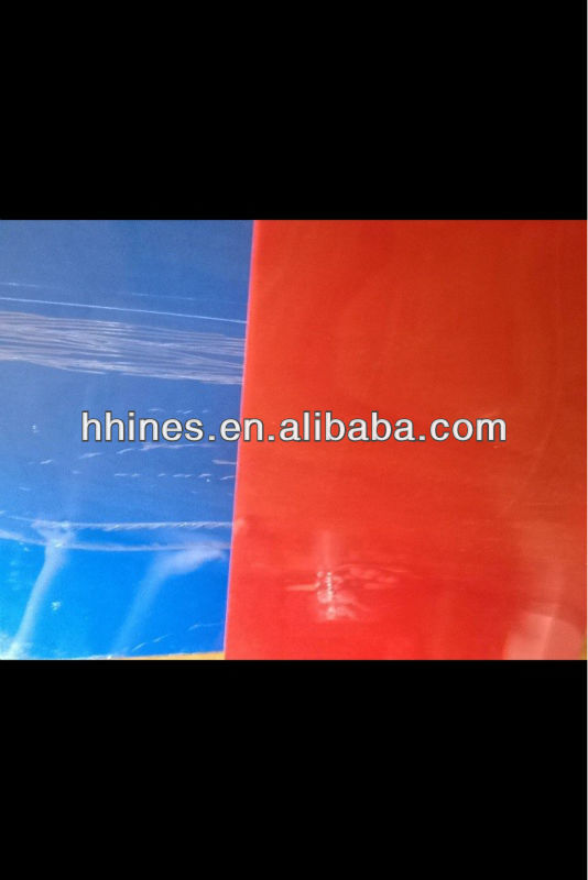 transparent abs plastic density