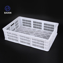 Plastic Chicken Duck Quail Birds Transport Cages For Live Poultry Farm