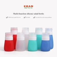 Non-toxic Silicone Leak-proof Mustard Oil Bottle