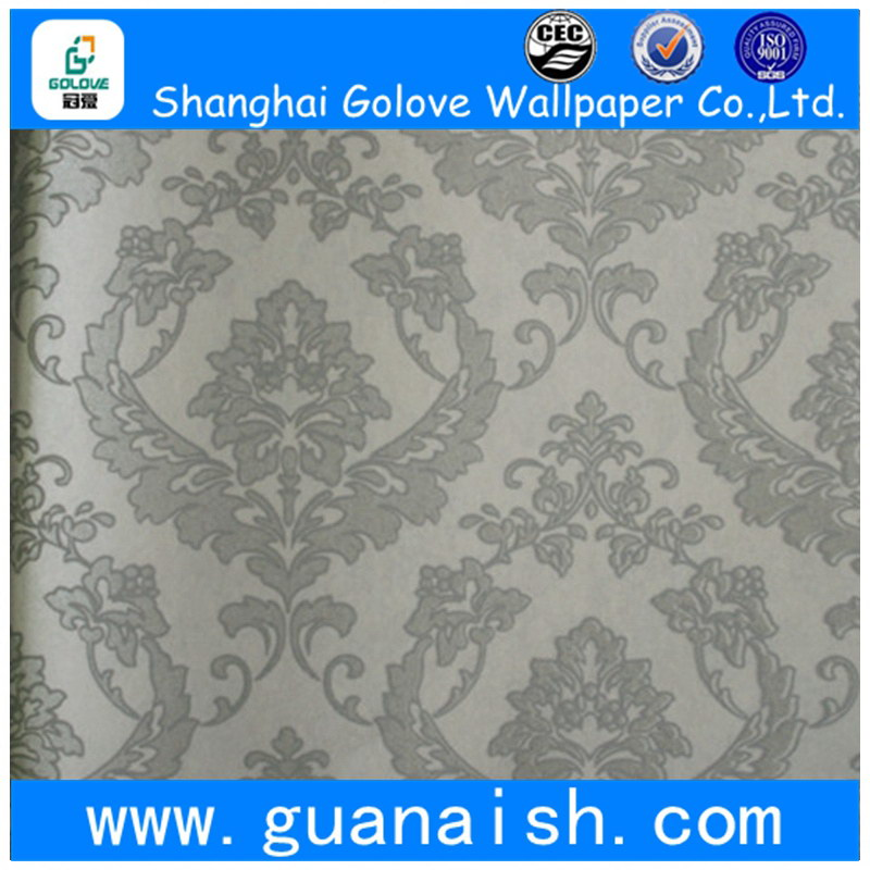 Waterproof fireproof usa latest design nonwoven wallpaper