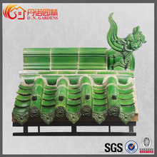 chinese ceramic roof tiles for pavilion garden and indian home temple