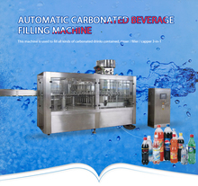 Automatic carbonated soft drinks production line for bottling plant