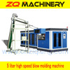TOP 1,high speed 5 liter reheat stretch blow molding machine