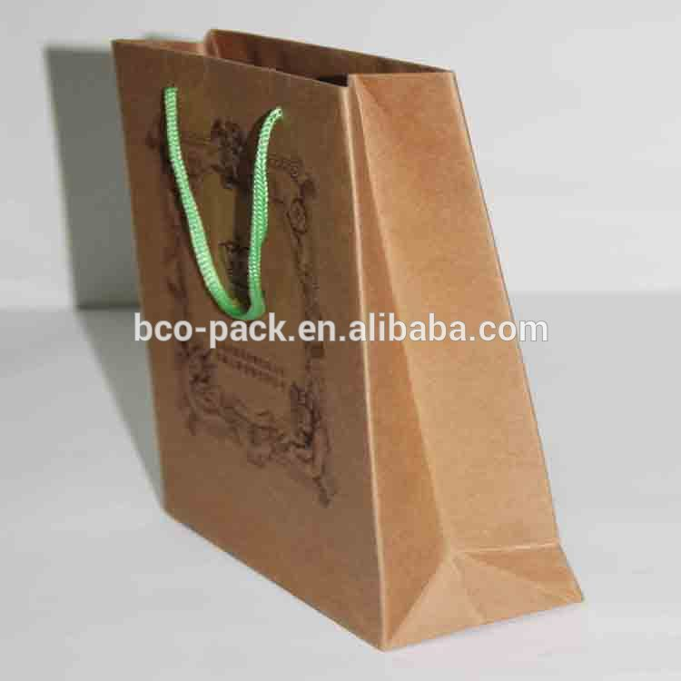 China factory custom printed paper bread bags