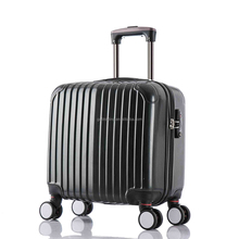 abs pc laptop trolley case/carry-on trolley luggage/cabin size suitcase luggage