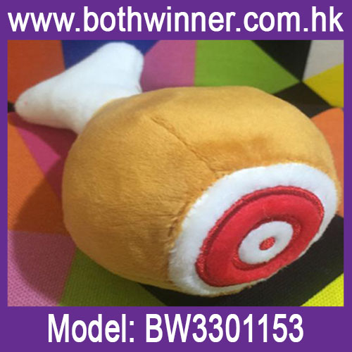 High quality Pet big chicken leg plush toy