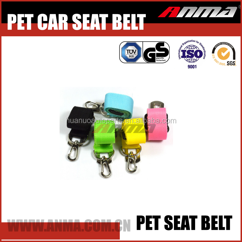 New Adjustable Pet Safety Car Vehicle Dog Seat Belt