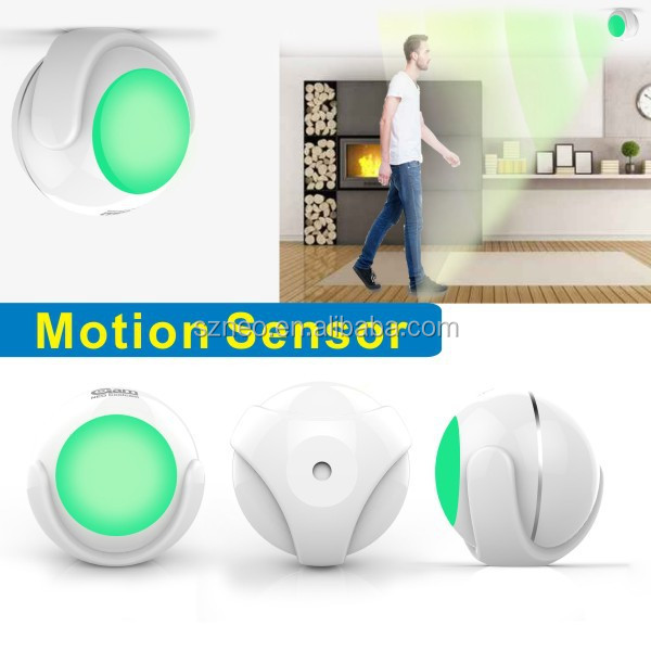 wireless PIR MOTION sensor integrated with IPcamera ihome kits for home security