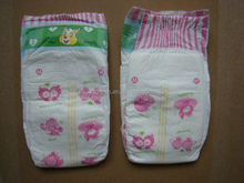 Printed magic tapes disposable baby diaper quick dry diapers world