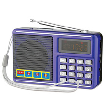 fm radio with mini digital wireless speaker