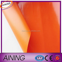 PVC coated tarpaulin fabric