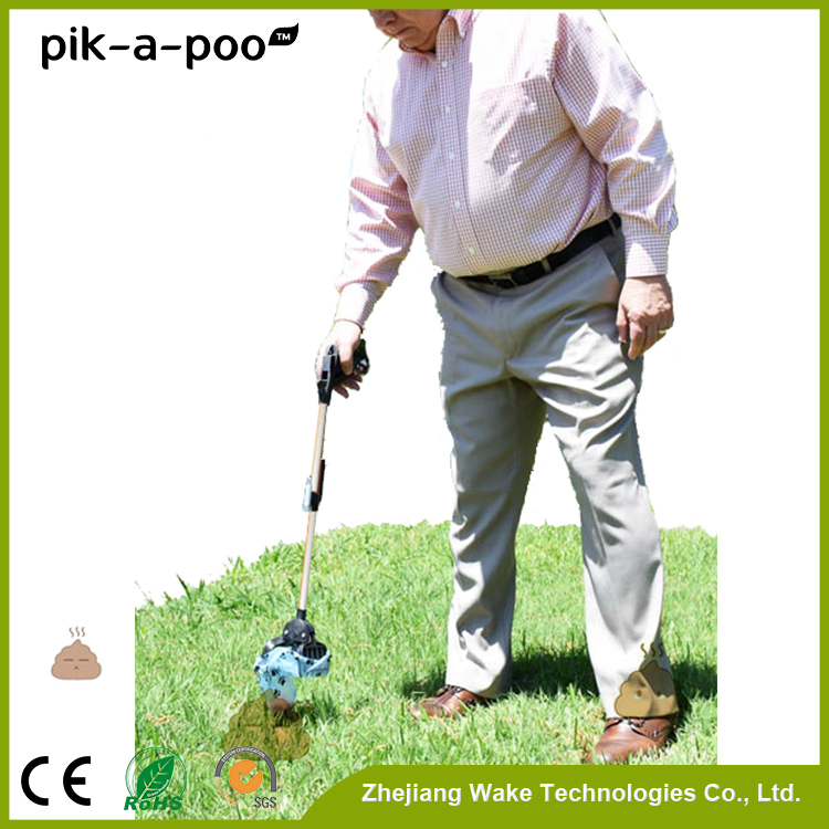 pik-a-poo New arrival latest design collapsible plastic dog pooper scooper picker travel pet product