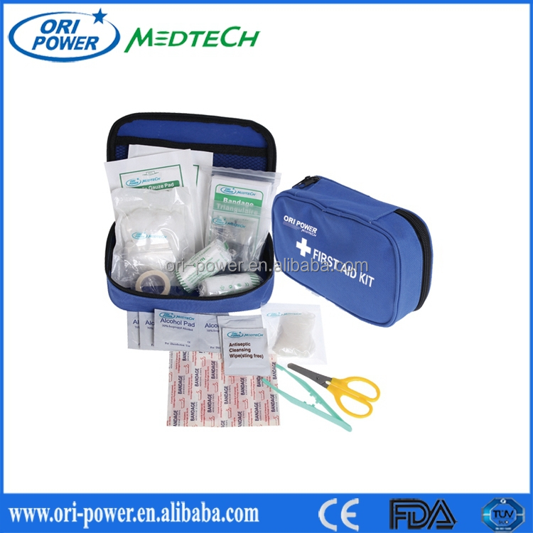 Professional customize manufacture FDA approved camping outdoor disaster survival kit