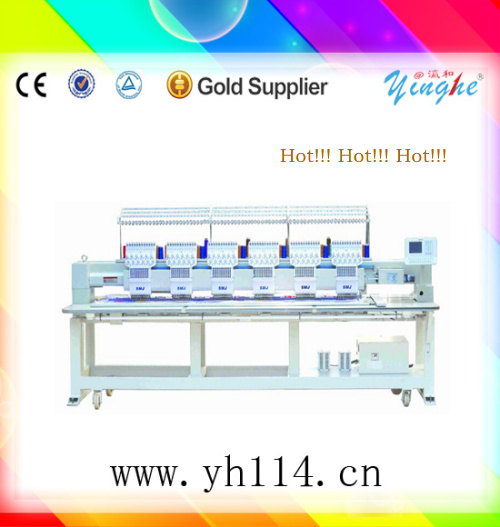 hot sale and last price logo embroidery machines