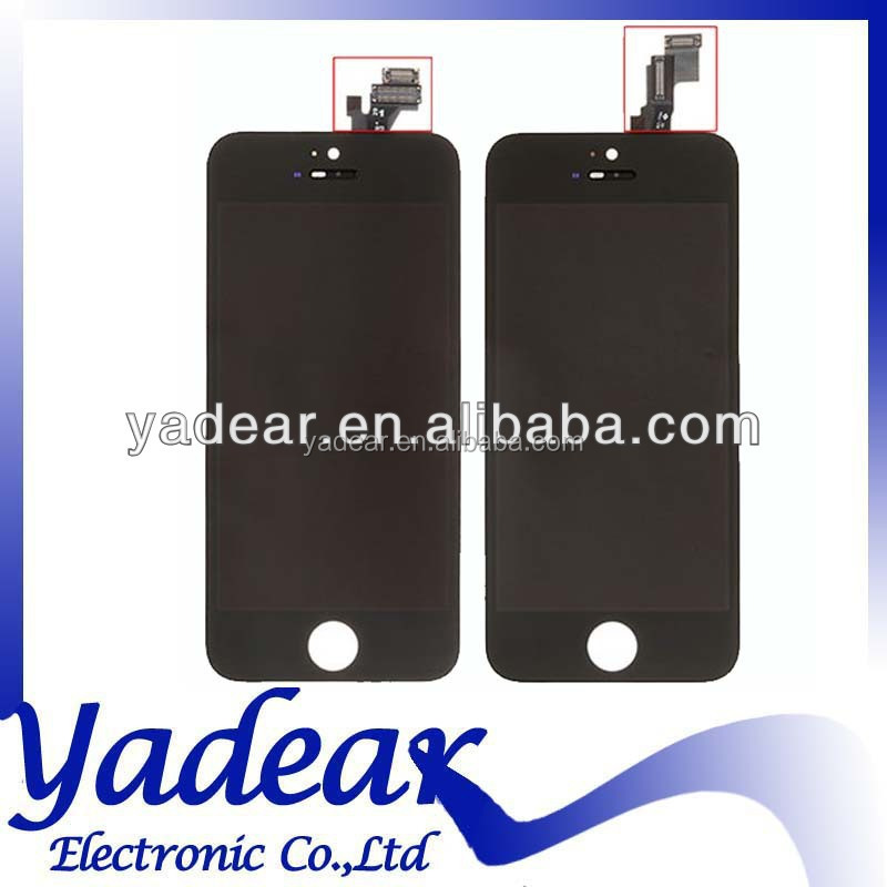 Grade aaa LCD display touch screen for Iphone 5 lcd digitizer oem for Iphone 5