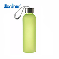 Clean transparent plastic water cola bottle 20oz