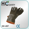 24 inch black fishing ce en388 disposable rubber latex safety gloves